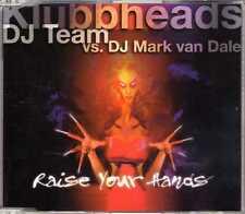 Klubbheads vs. Mark van Dale - Raise Your Hands - CDM - 1998 - House 4TR Mighty