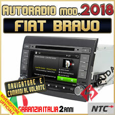 "AUTORADIO 7"" DVD/CD MP3 MP4 FIAT BRAVO 2007-2012 GPS navigatore Bluetooth 2018"