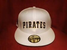 Pittsburgh Pirates 5950 New Era Fitted Hat Cream 1976 World Series All Sizes NWT