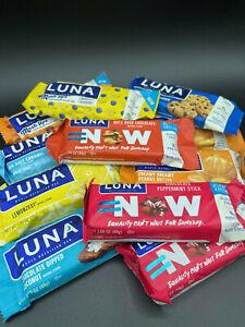 50 Assorted Flavor - Clif - LUNA BAR - Gluten Free  - Gluten Free