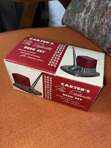 Vintage Carter's Ink New Stylewriter Desk Set New in Box with Bottle and Holder
