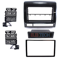 Radio Replacement Dash Mounting Kit Single/Double-DIN for Toyota Metal Graphite