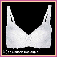 Underwired Black or White Lace Padded Bra Size 34B - 40E  by Daniel Axel