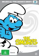 Smurfs: The Time Travellers (DVD, 2008, 3-Disc Set, Region 4) NEW
