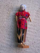Handmade Village Woman Doll - Guatemala