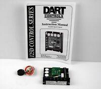 A03 DART CONTROLS INC 125DV-C-55G DC SPEED CONTROL w// RV4NAYSD503A KNOB