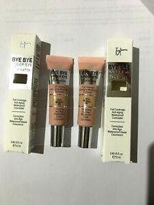 IT Cosmetics By Bye Under Eye Illumination  Concealer 12ml MEDIUM