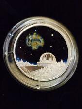 2016 The Universe $20 Fine Silver GITD Coin with Luminescent Borosilicate Glass