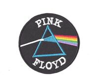 PINK FLOYD Iron on Patch Embroidered Badge Band Sew Music PT210
