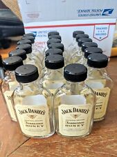 Lot of 20 Jack Daniels Tennessee Honey  EMPTY Rinsed 100ml glass Bottles -crafts
