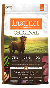 Nature's Variety Instinct Original Grain Free Recipe with Real Duck Dog Food