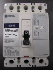 NEW ALLEN-BRADLEY CIRCUIT BREAKER PROTECTOR 140U-I6C3-C30M BREAKER 30A LABEL