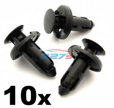 10x 8mm Plastic Trim Clips for Sill Covers, Side Skirts & Sill Trims for Honda