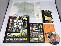 Grand Theft Auto San Andreas - Brady Games - Strategy Guide And Complete Game