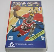 Michael Jordan Come Fly With Me Vhs Video 1992