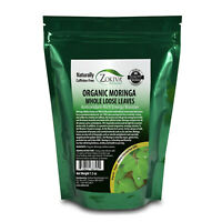 Moringa Leaves - Loose Organic Dried 100% All-Natural Energy Booster 1.5 oz