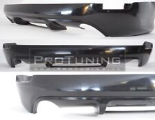 NEW Brand Rear Bumper Spoiler addon chin HB Hatchback with crossbar Tuning