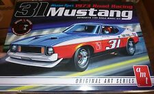 AMT Warren Tope 1973 Ford Mustang Trans Am 1/25 Model Car Mountain KIT FS