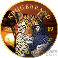 LEOPARD Krugerrand Big Five 1 Oz Silver Coin 1 Rand South Africa 2019