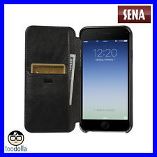 Sena Ultra Thin Wallet Book for iPhone 7 Plus - Black