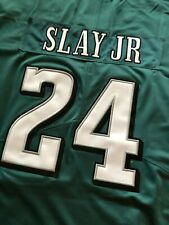 Darius Slay Jr Green All-Stitched Philadelphia Eagles Jersey #24 Men's Large