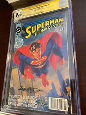 Superman The Man of Steel #1 CGC Signature Series 9.4 Bob McLeod (Jul 1991, DC)