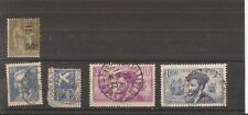 France 1934 5 stamps used
