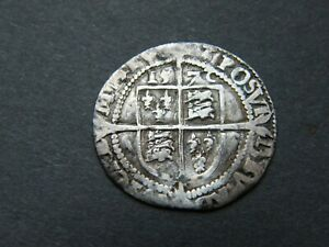 Rare 1572 Elizabeth I 1st Silver Sixpence Six Pence Coin Inverted 2 MM Ermine