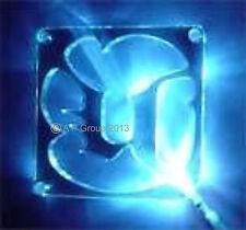 Sunbeam Multi Colour UNREAL BRIGHT LED 80mm 8cm Acrylic Fan Grill Cover PC Case