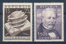 Österreich Nr. 995 + 996 postfrisch / **, 2 Ausgaben aus 1953/54 (34909)