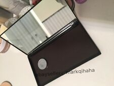 medium black compact MIRRORED portable MAGNETIC clamshell makeup Palette