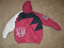 Vintage Logo Athletic Texas A&M Aggies Shark tooth Jacket Size Large Men's LA