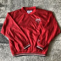Logo 7 Nfl Tampa Bay Buccaneers Football Pullover Windbreaker Jacket Mens Medium