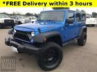 2016 Jeep Wrangler Unlimited Willys Wheeler 3.6L V6 4x4 1-own Cln Car 2016 Jeep Wrangler, Hydro Blue Pearl Coat with 86,051 Miles available now!