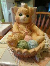 1995 Calico Kittens Enesco #168602 A Little Litter of Blessings 6C11/562