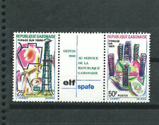 GABON Scott # 251a ** MNH Set. 20TH ANNIV. OF ELF SPAFE OIL DRILLING OPERATIONS
