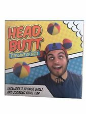 Head Butt Fun Game of Skill 2 Player Head Cap Throwing Game Novelty Gift
