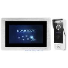 HOMSECUR HDK Video Home Intercom with Waterproof HD Camera & Recording Snapshot