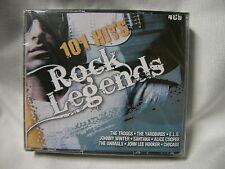 101 Hits-Rock Legends 4 CD con The Troggs the YardBirds E.L.O. Santana ...