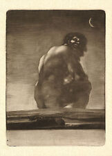 Goya - Drawings & Print Reproductions: The Colossus (The Giant) - Fine Art Print