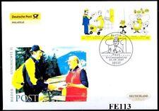 BRD 2007: Post! Post-FDC der Nummer 2620+2621 mit Berliner Ersttagsstempel! 1803