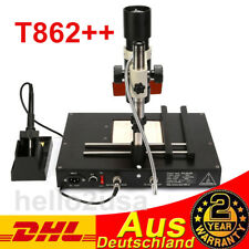T862++ REWORK STATION INFRARED SOLDERING SMT SMD IRDA BGA WELDER STATION Best!