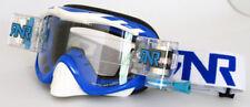 Rip N Roll Híbrido completamente cargado salen de Gafas Motocross MX Enduro NOBO Azul