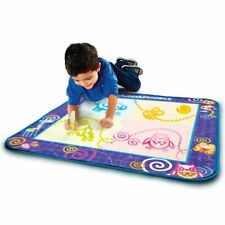 AquaDoodle Drawing Mat with Neon Color Reveal - Damaged Box