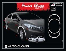 Autoclover Chrome Fender Garnish Molding 8p for 2013-2018 KIA Cerato 4dr Sedan