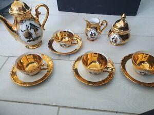Mokkaservice Bavaria Händel Porzellan Manufaktur