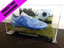 ✺Signed✺ ARCHIE THOMPSON Football Boot PROOF COA Melbourne Victory 2018 Jersey