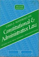 Cases and Materials on Constitutional and Administrative Law (C .9781854312198