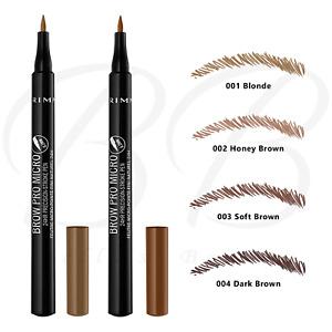 RIMMEL Brow Pro Micro 24HR Precision Stroke Eyebrow Felt-Tip Pen *ALL SHADES*