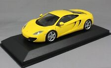Minichamps Maxichamps McLaren 12C in Yellow 2011 940133020 1/43 NEW MP4-12C